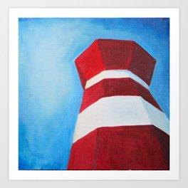 Hilton Head Island Lighthouse Art Print