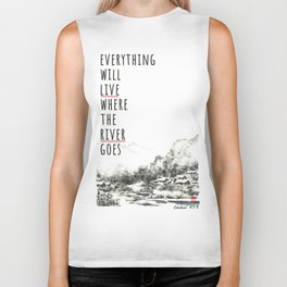River of Living Water Biker Tank