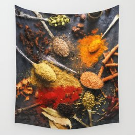 Spice Of Life Wall Tapestry