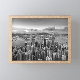HONG KONG 40 Framed Mini Art Print