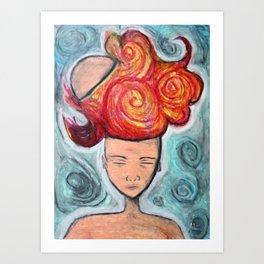Cerebral Outburst Art Print
