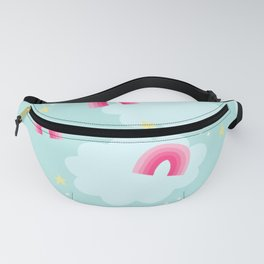 Rainbows & Happiness Fanny Pack