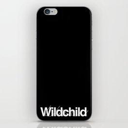 wildchild black iPhone Skin