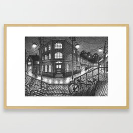 Factory zone Framed Art Print