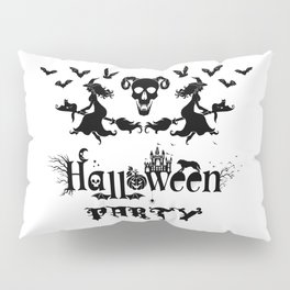 Happy Halloween Party -  Perfect gift idea for everyone on Halloween Holiday. Pillow Sham