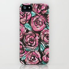 Pastel Pink Roses Slim Case iPhone (5, 5s)