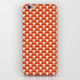 Dragon Scales Tangerine  iPhone Skin