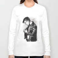 alex turner Long Sleeve T-shirts featuring alex turner [5] by roanne Q