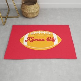Football Kansas City Rug