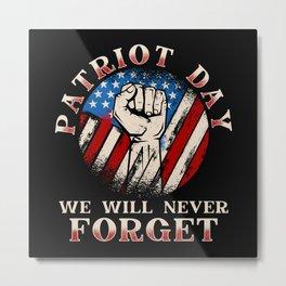 Patriot Day 2020 Metal Print