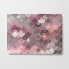 Pink Scales Metal Print