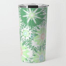 Vintage Green Garden Love Travel Mug