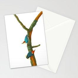 Turquoise Bird Stationery Cards