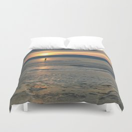 Loneliness is in ices Duvet Cover