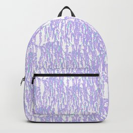 Cascading Wisteria in Lilac + White Backpack