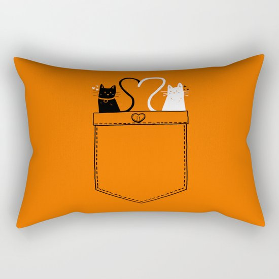 poCATS Love Rectangular Pillow