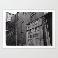 Architectural Decay Art Print