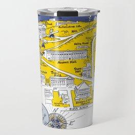 PITTSBURGH University map PENNSYLVANIA  dorm decor Travel Mug