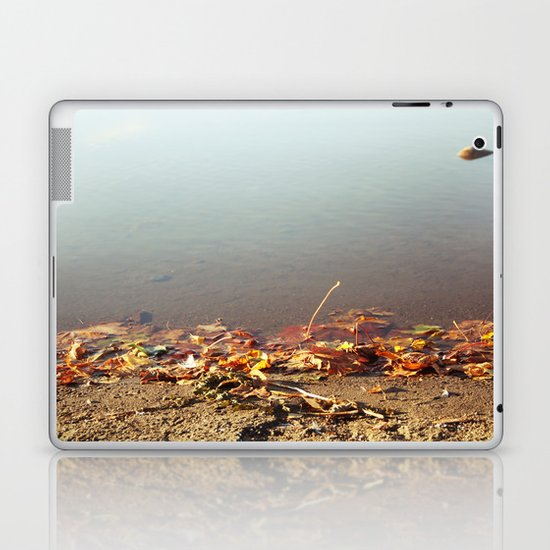 Autumn by the water Laptop & iPad Skin