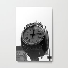 Does Anybody Have The Time? Metal Print