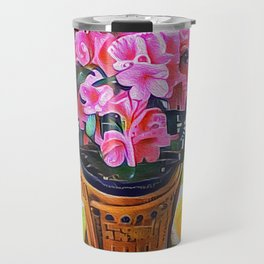 Spotted Azalea Travel Mug
