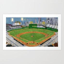 Pittsburgh Baseball (Interior) Art Print
