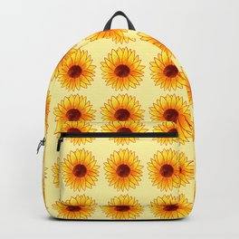 Sunflower Pattern - Sunny Yellow Variant Backpack