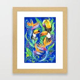 Toucan Do It Framed Art Print