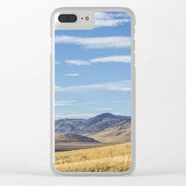 East of Steens Clear iPhone Case