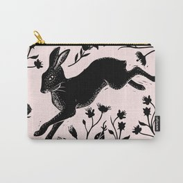 Hare & Vines Carry-All Pouch