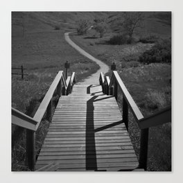 Coulee Stairs Canvas Print