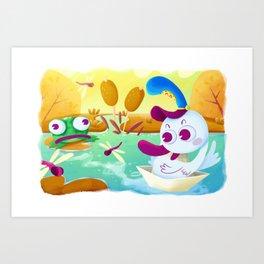 Sweet Seasons - Summer Art Print