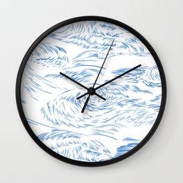 MicroWave Goodbye Wall Clock