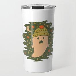 Winter Ghost Travel Mug