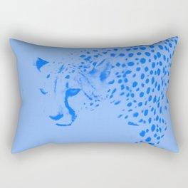 Cheetah blues Rectangular Pillow