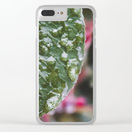 Small Snowflake Clear iPhone Case