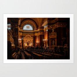 St. Stephen's Basilica - Budapest Art Print