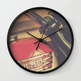 Vintage Triumph Bonneville Motorcycle Wall Clock