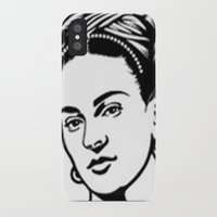 frida iPhone & iPod Cases featuring Frida  by b & c