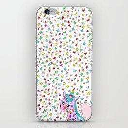 Rainbow the Unicorn Starstruck iPhone Skin