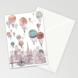 Voyages Over San Francisco ~ Refresh Stationery Cards