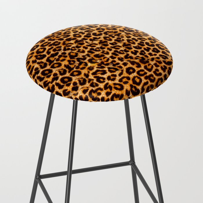leopard pattern Bar Stool