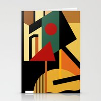 kandinsky Stationery Cards featuring THE GEOMETRIST by THE USUAL DESIGNERS