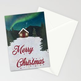 Merry Christmas Holiday Card Stationery Cards