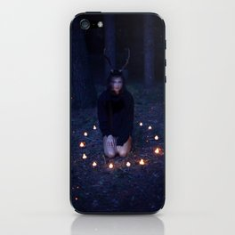 All Adventures Are Scary iPhone Skin
