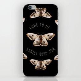 Manifest Moth iPhone Skin