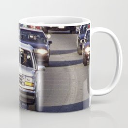 OJ Simpson Car Chase Coffee Mug