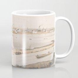 Vintage Pictorial View of Trenton NJ (1851) Coffee Mug