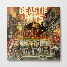 Beastie Invasion Metal Print