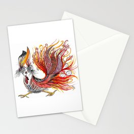 Dreamy Rooster Stationery Cards